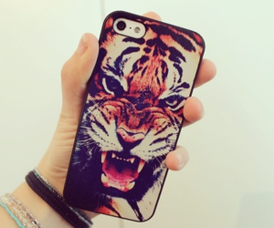 tiger, iphone, and case image