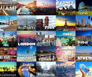 london, Miami, and travel image