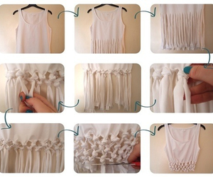blouse, do it yourself, and diy image