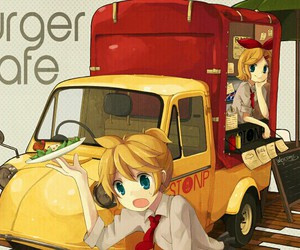 cute funny, truck, and vocaloid image