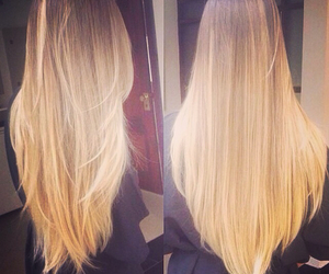 hair, blonde, and girly image