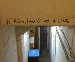 fall in love not in line image