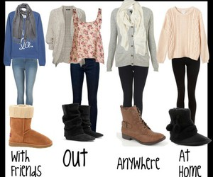 clothes, outfit, and boots image