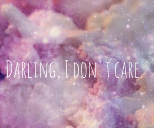 care, darling, and dont image