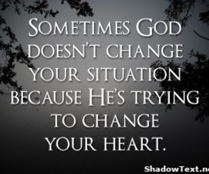 god, heart, and change image