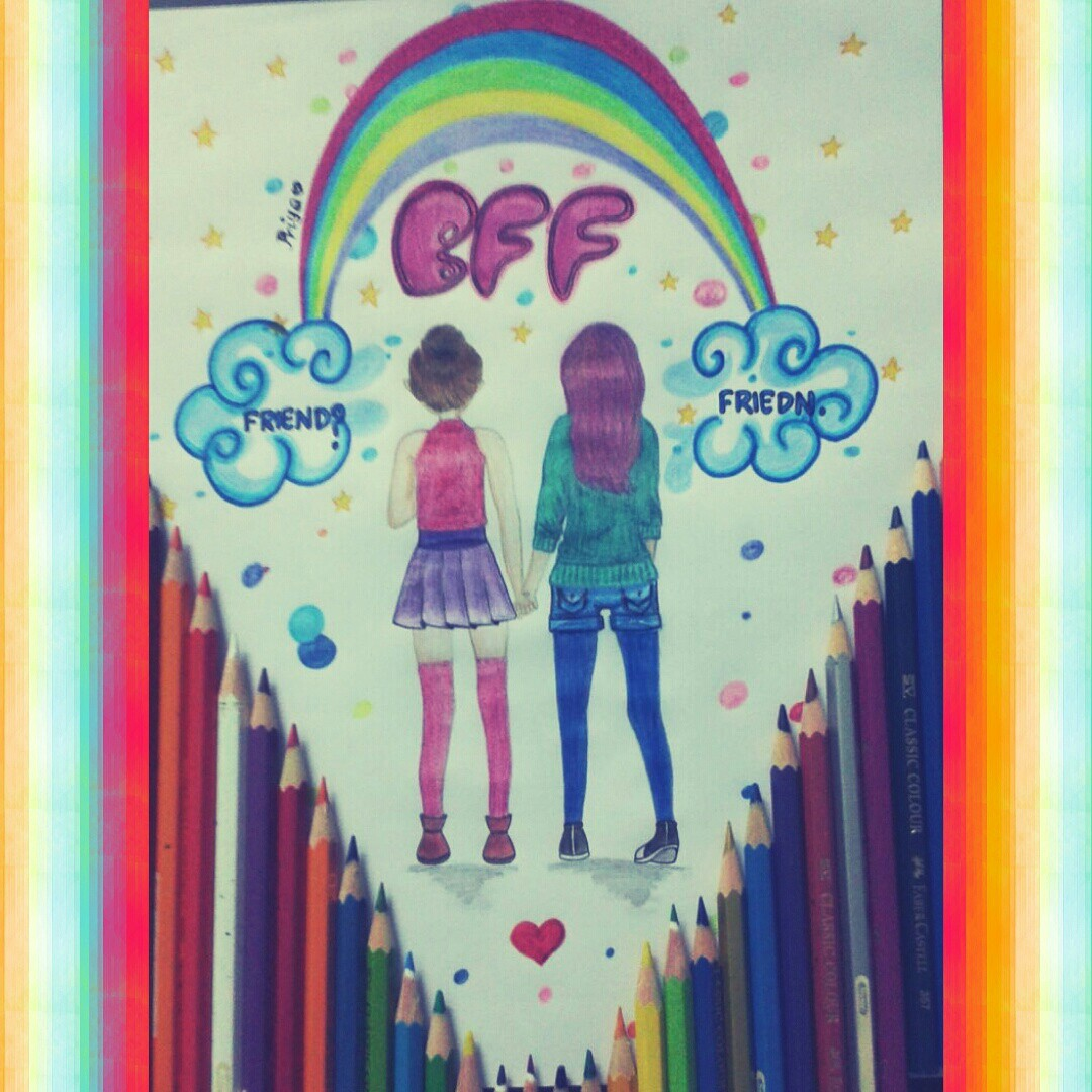 Happy Friendship Day wid my drawing on ...