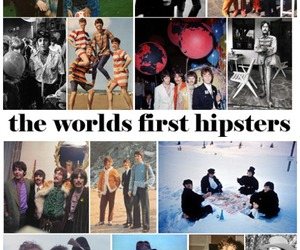 hipster, the beatles, and iquitelikethebeatles image