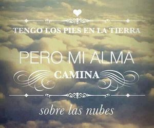 alma, nubes, and frases image