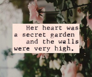 garden, heart, and love image