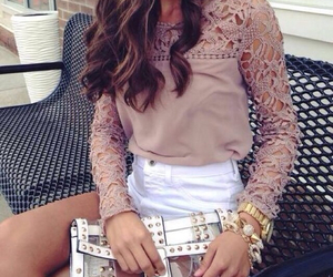 lace, outfit, and cute image