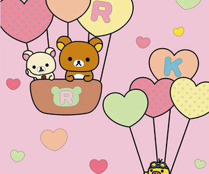 cute, rilakkuma, and wallpaper image