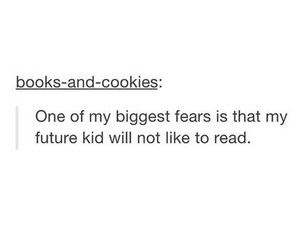 books, fears, and funny image