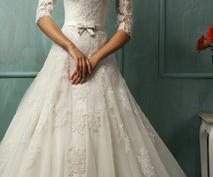 bridal, fairytale, and gown image
