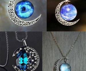 blue, necklace, and amazing image