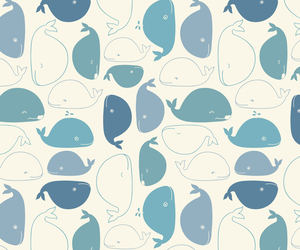 whale, blue, and background image