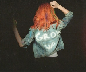 paramore, hayley williams, and grow up image