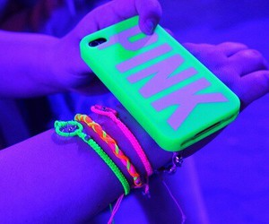 fluo, iphone, and pink image