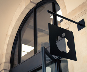 apple, shop, and luxury image