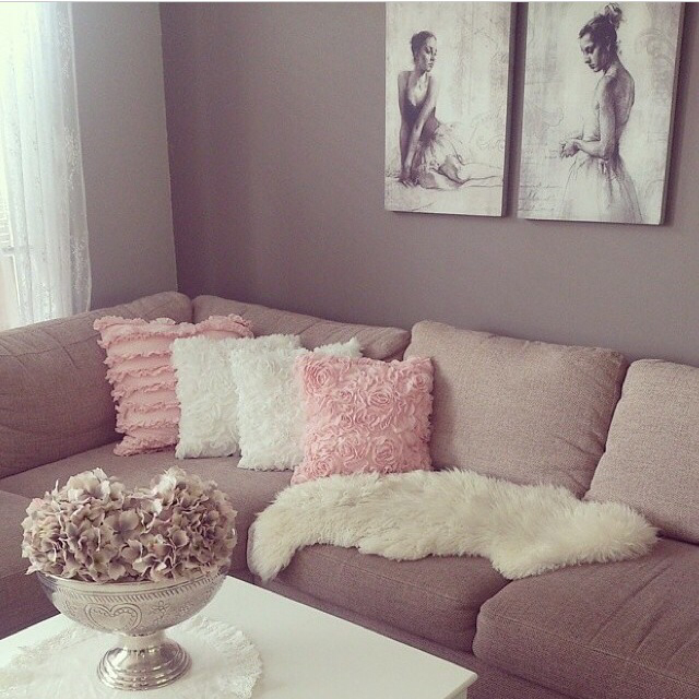 brown, couch, and cozy image