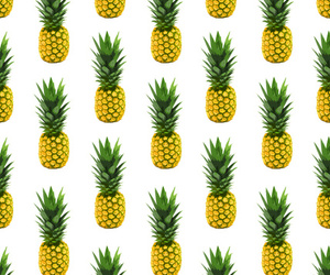 pineapple, background, and wallpaper image