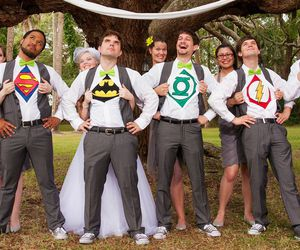 amazing, funny, and groomsmen image