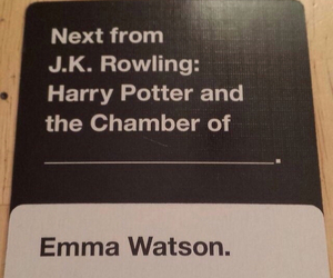 emma watson, game, and harry potter image