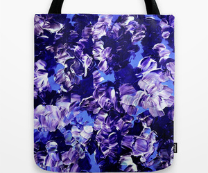 Abstract Painting, bold colors, and shopping bag image
