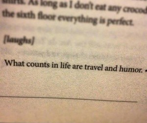 quote, travel, and life image