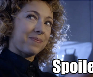 doctor who and river song image