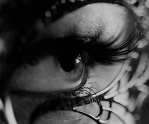 mask, eye, and eyes image