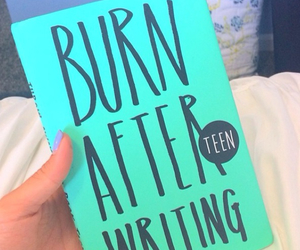 book, burn, and burn after reading image