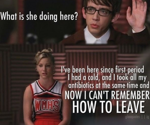 funny, glee, and tv shows image