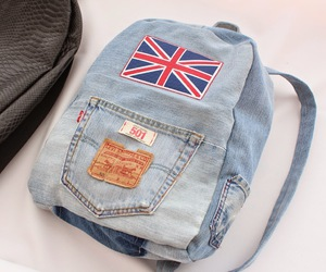 backpack, chic, and diy image