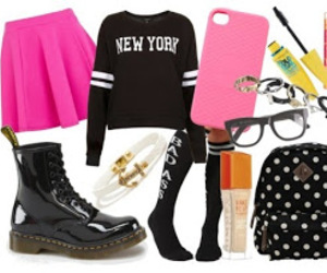 outfit and back to school image