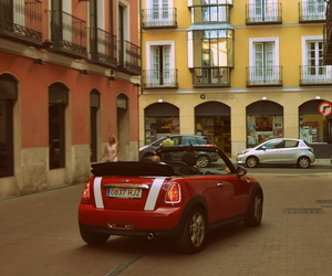 minicooper, spain, and summertime image