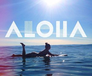Aloha, summer, and surf image