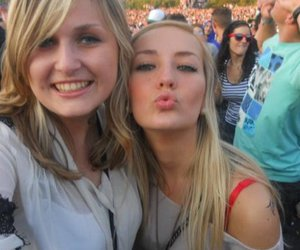 blonde, festival, and fun image