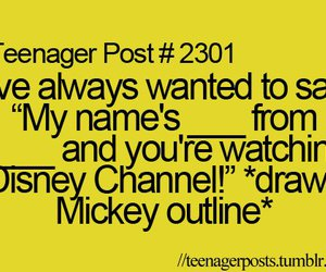 funny, disney channel, and disney image