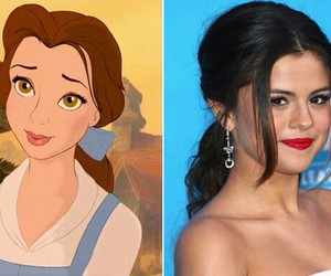 belle, pretty, and princess image