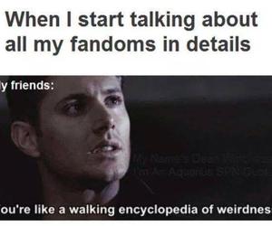 fandom, supernatural, and funny image