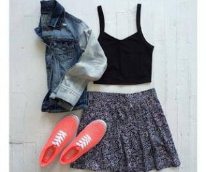 clothes, cool, and oufit image