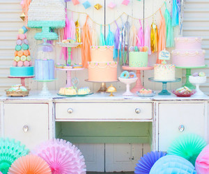 cake, decoration, and party image