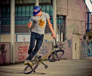 bike, flatland, and boy image