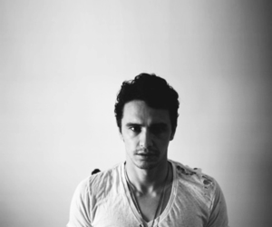 james franco and black and white image