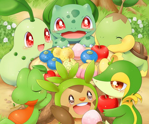 anime, pokemon, and bulbasaur image