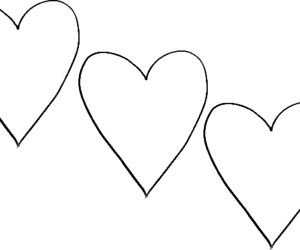 hearts and overlay image