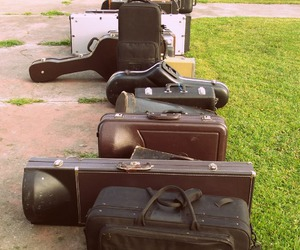 guitar, instruments, and music image