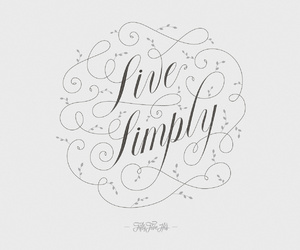 life, live, and simple image