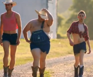 country, funny, and role reversal image