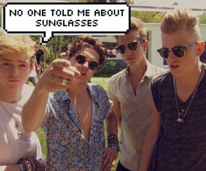 funny, the vamps, and connor ball image